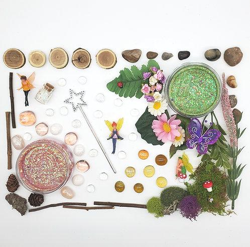 Fairy Hollow Play Set (Dough and Themed Play Kit)