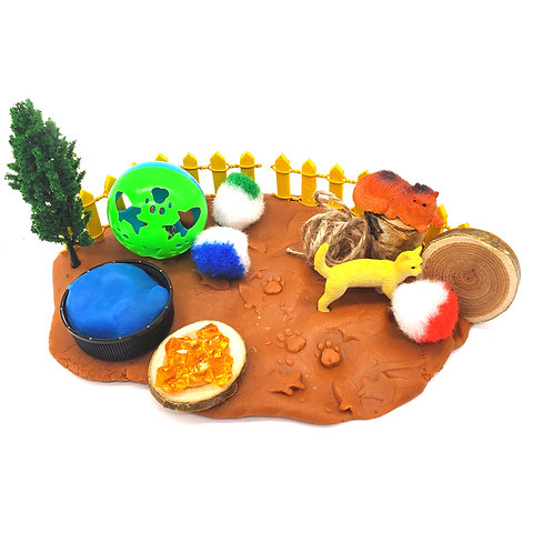 Pet Park Play Pieces (Play Pieces Only)