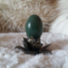 Shadow Illumination Yoga: Green Aventurine Yoni Eggs