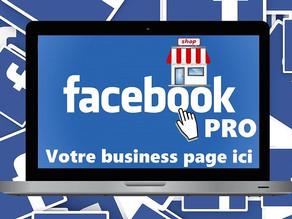 Création de page Facebook pour votre entreprise