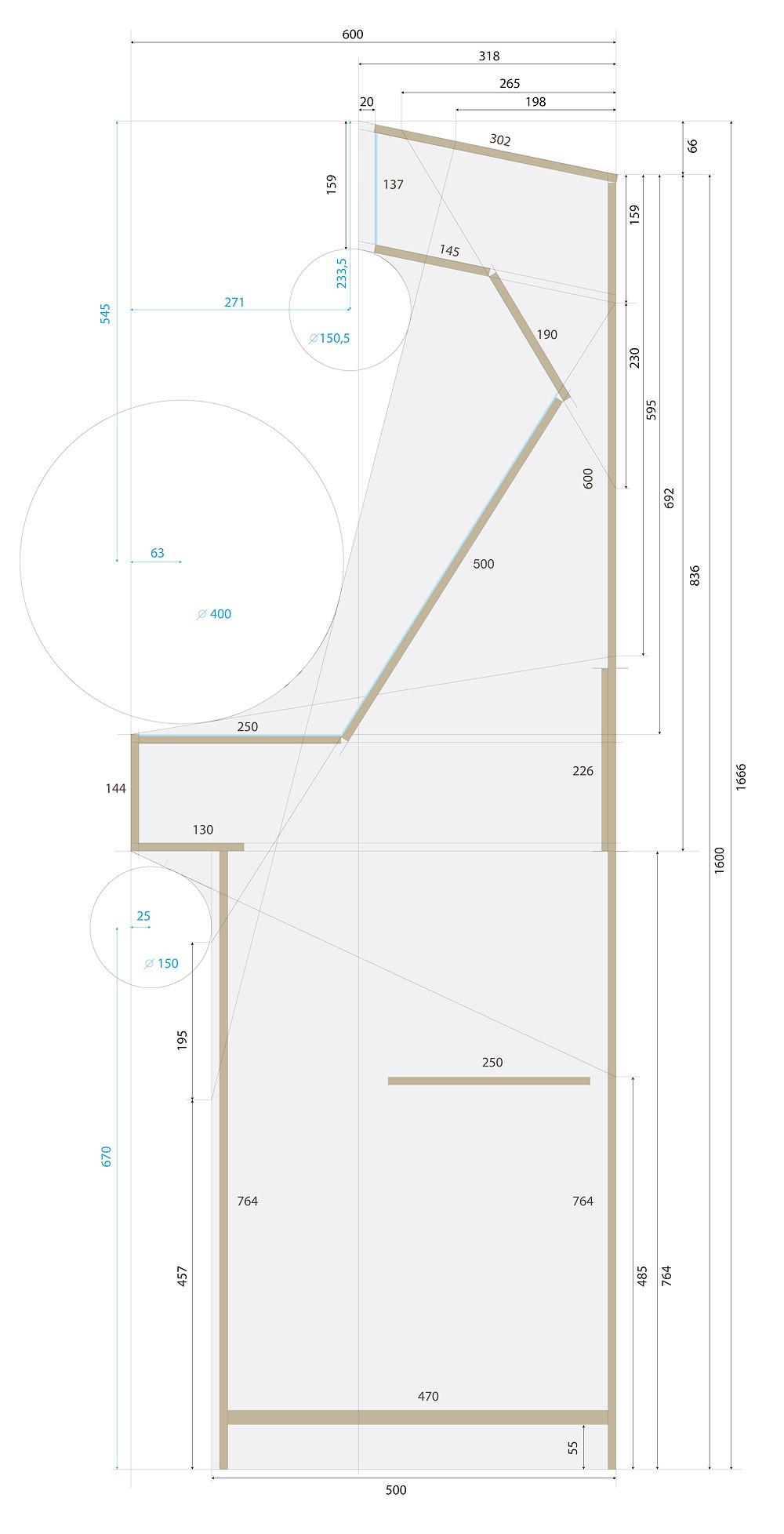 schéma et plan borne d'arcade de jeux
