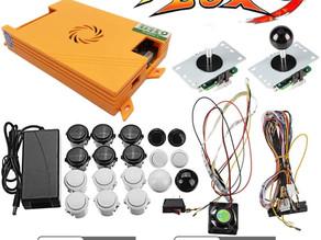 Étape de fabrication d'une borne de jeux arcade avec plus de 1500 Jeux