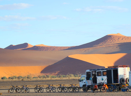 Namibia Cycling Trip!