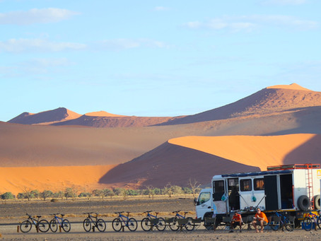 Namibia Cycling Trip!