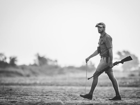 Chatting with Safari Guide Trainer, Mike Anderson
