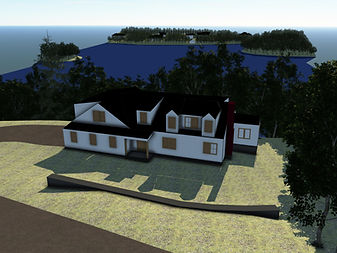 3D rendering - view of 60 Steeple Chase