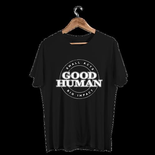Good Human Men's Black Logo T-Shirt