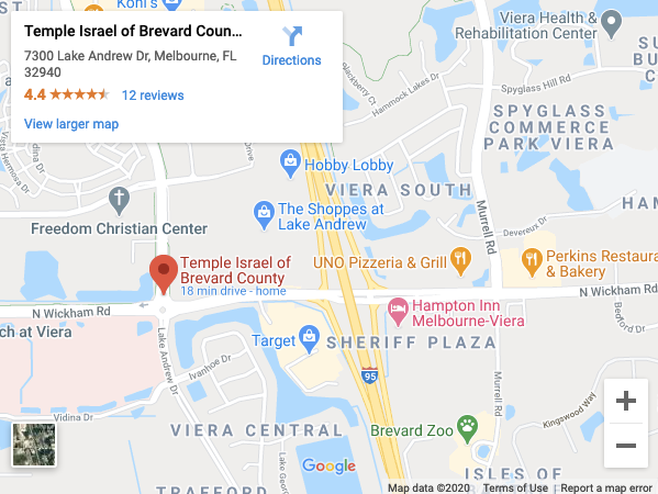 Map to Temple Israel.png