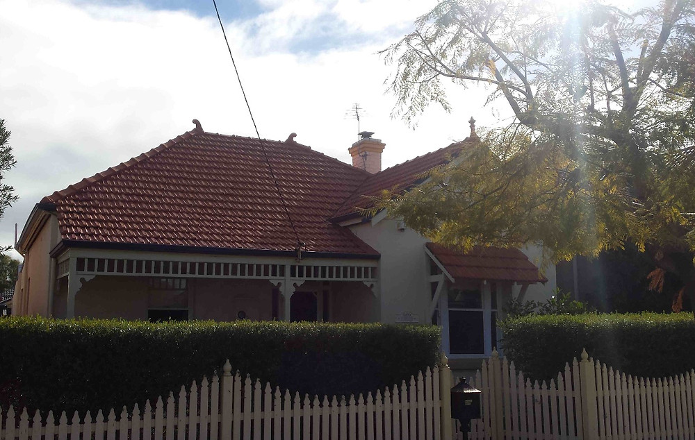 North Perth house before re-roof, July 2016
