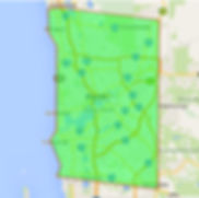 WA Roof Restoration Service Areas
