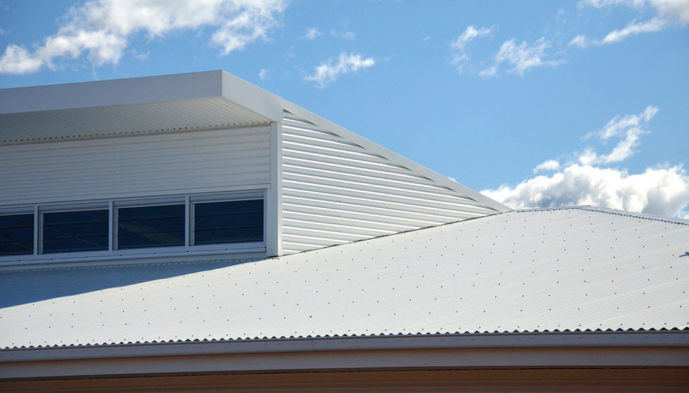 Attractive Colorbond Roof Sheeting