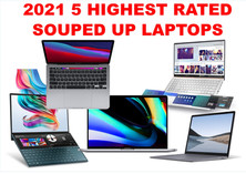 2021 TOP FIVE SOUPED UP LAPTOPS