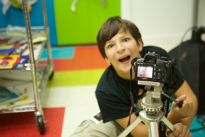 """You can do anything with a camera when you know how to use it""- Gary, age 10"