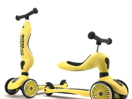 Les nouvelles couleurs Scoot&Ride disponibles début Décembre 2019.