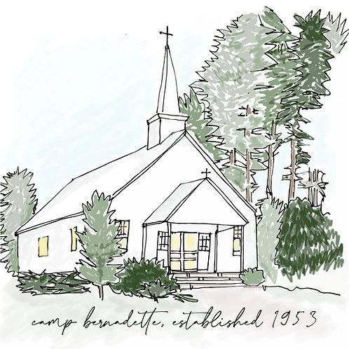 Chapel Sketch Mug