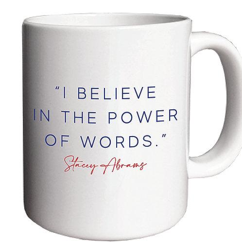 Power of Words Mug