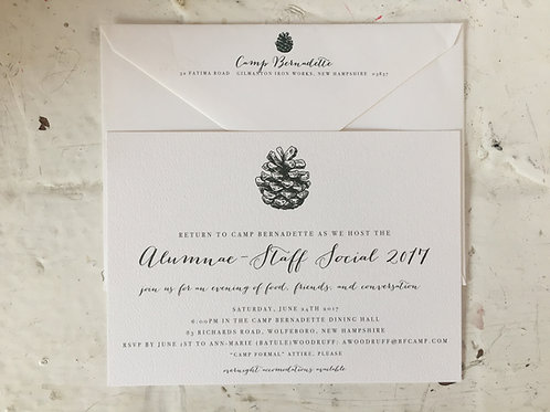 Pinecone Invitation