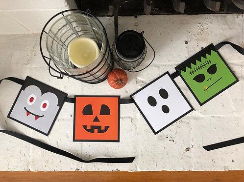 Halloween Ghouls Banner