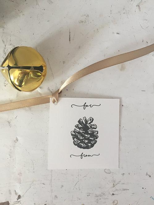 Pinecone Gift Embellishment