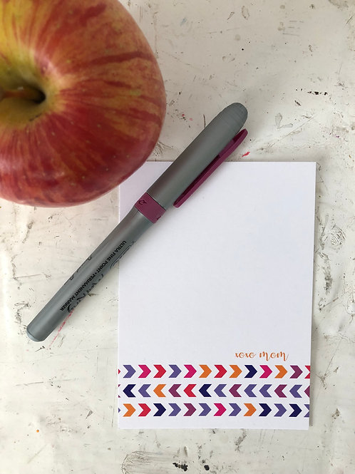 Chevron Lunchbox Notes