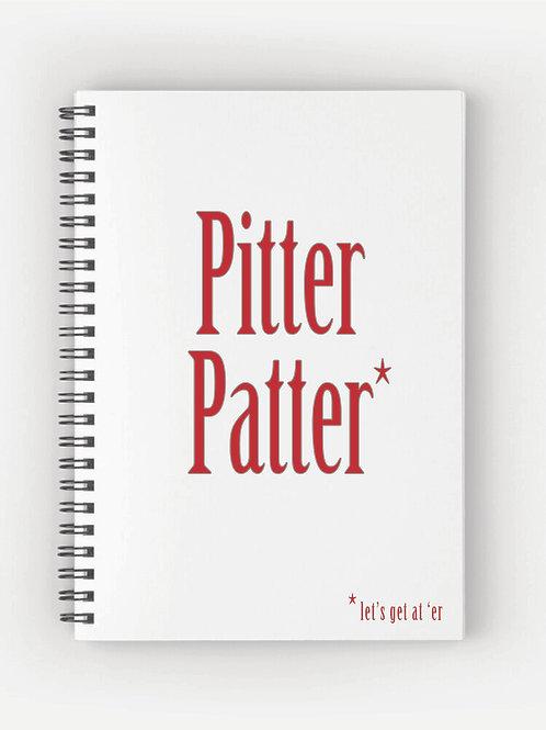 Pitter Patter Letterkenny Wirebound Notebook