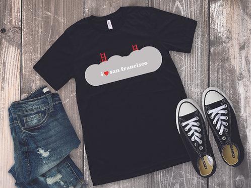 i heart san francisco Women's Shirt