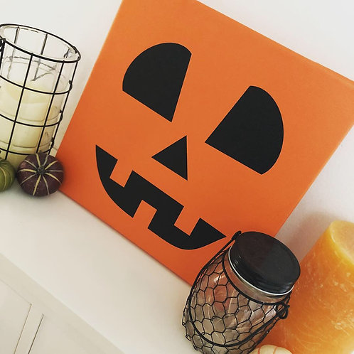 Hauntingly Cute Halloween Canvas Gallery Wraps