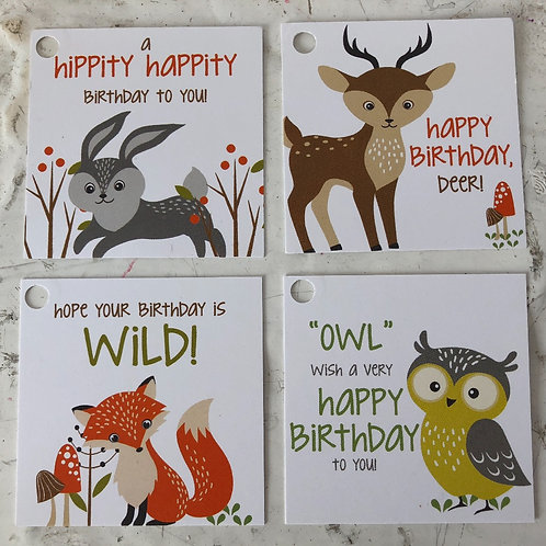 Woodland Friends Gift Embellishments