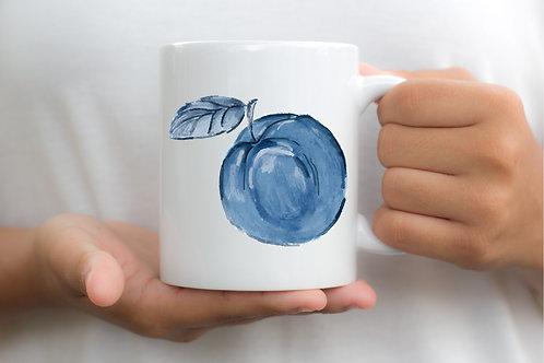 Blue Peach Georgia Victory Mug