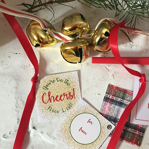 Nice List Gift Embellishments