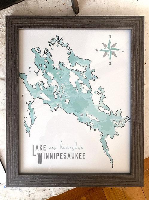 Customizable Lake Life Art Print