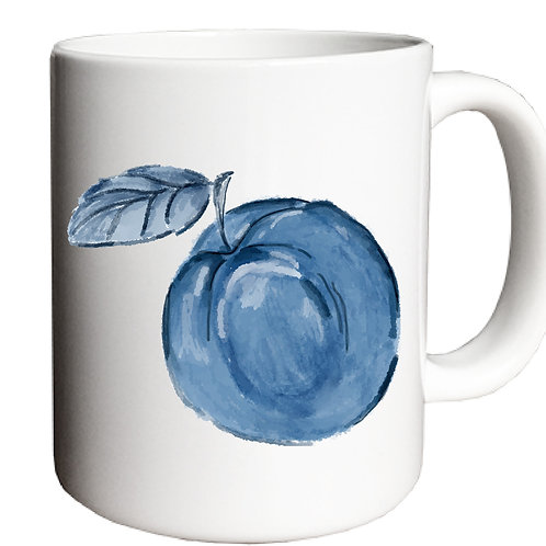Blue Peach Georgia Victory Mug