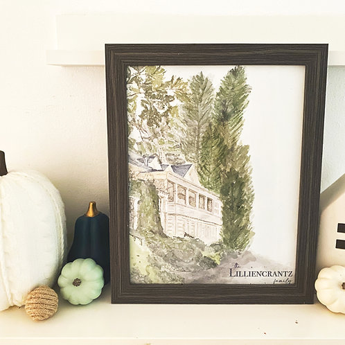 Customizable Home Sweet Home Art Print