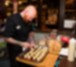 Owner/Executive Chef, Travis Owen at the Rivera Supper Club & Piano Bar