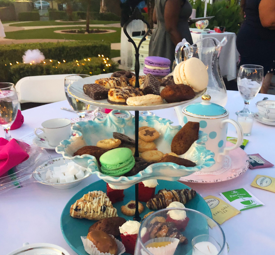 Pinkies Up Tea Party 2018 Fundraiser