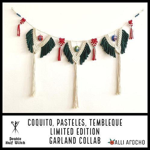 Coquito, Pasteles, Tembleque.