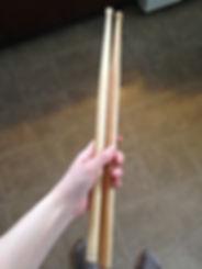 snare drum sticks
