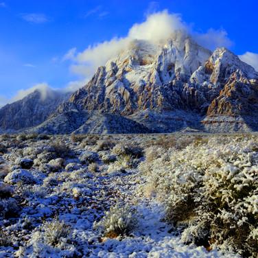 Mt. Wilson in winter