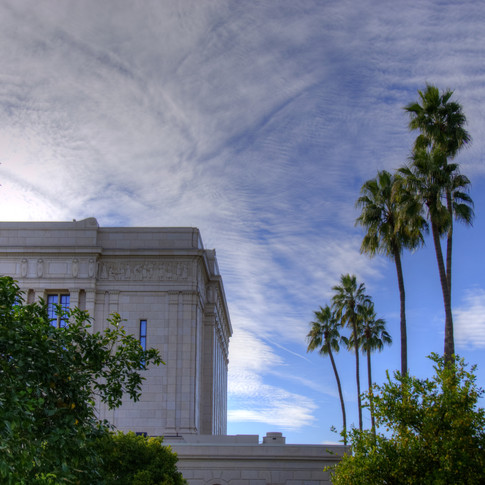 Mesa Temple Grounds