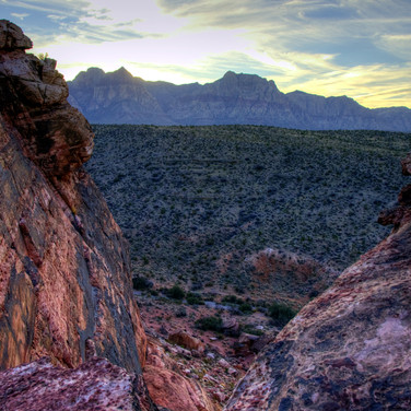 Outside Looking in - Calico Hills