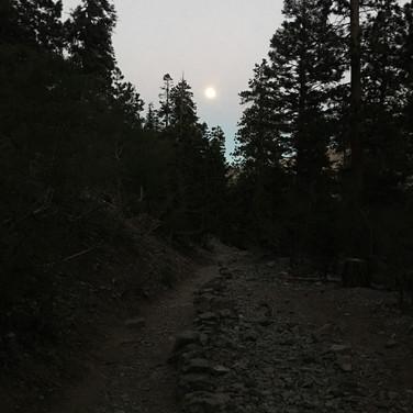 Full Moon, Kyle Canyon