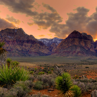 Red Rock Sunset 2