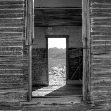 Double doors - Rhyolite