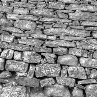 Rock wall - Nevada City, CO