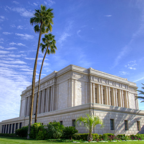 Mesa Temple - North