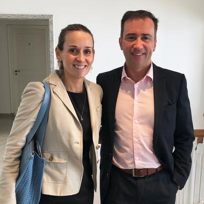 Marina Willisch e Cristiano Rosa de Carvalho