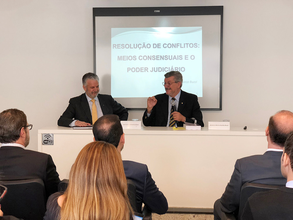 José Carlos Ferreira Alves e Ministro Marco Buzzi