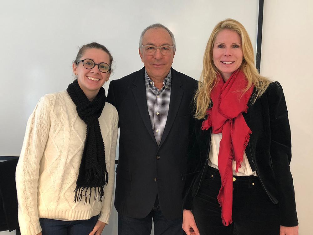 Laura Diniz, Milton Seligman e Samantha Pflug-Meyer