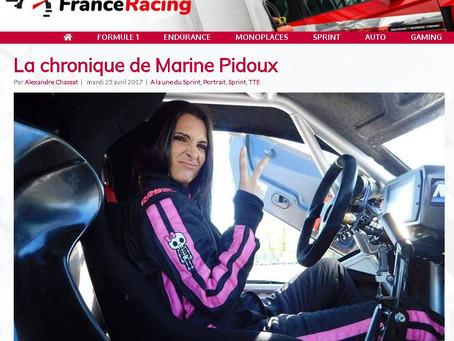 La chronique de Marine Pidoux