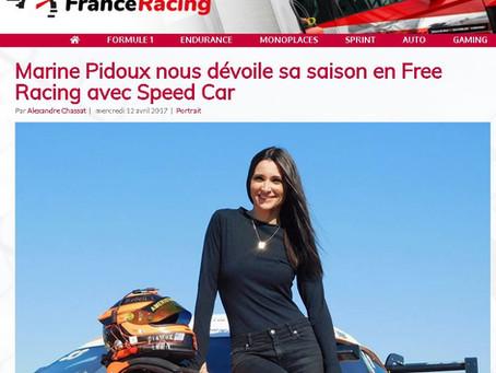 Marine Pidoux nous dévoile sa saison en Free Racing avec Speed Car